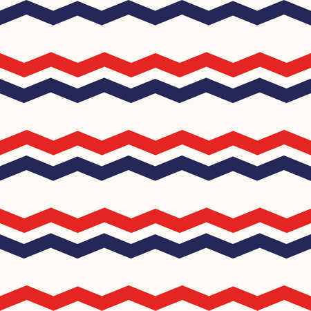 4th of July Stars Abstract Seamless Pattern, colored as USA Flag. Vector Illustration of Stars Background for Celebration Holiday American President Day, memorial day eps 10 Vektoros illusztráció
