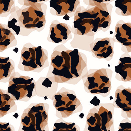 Vector Illustration Art of Leopard Panther Panthera Pardus Linnaeus Skin Pelt for Background, Backdrop or Wallpaper.