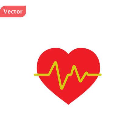 electrocardiogram icon.