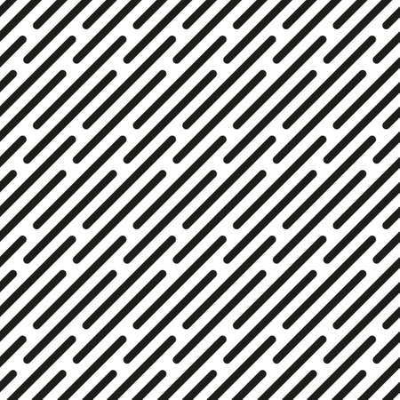 Vector seamless pattern. Stylish texture with diagonal stitches. Modern background from bold dotted line. Can be used as swatch for illustrator