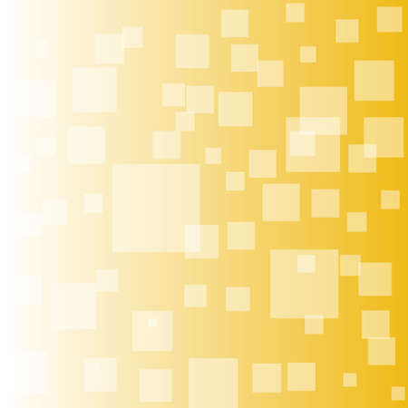 Squares pattern Vector illustration. Different shades og yellow, gold color eps10 Ilustración de vector