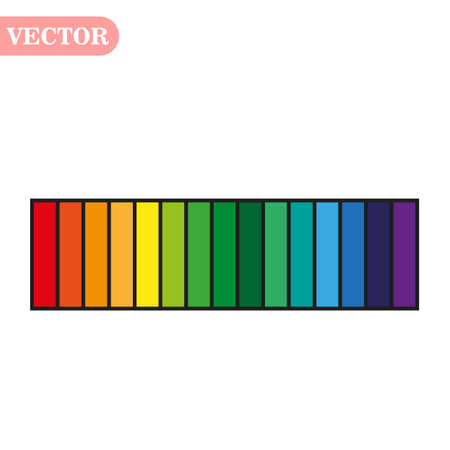 rainbow color abstract geometric pattern texture background vector Ilustração