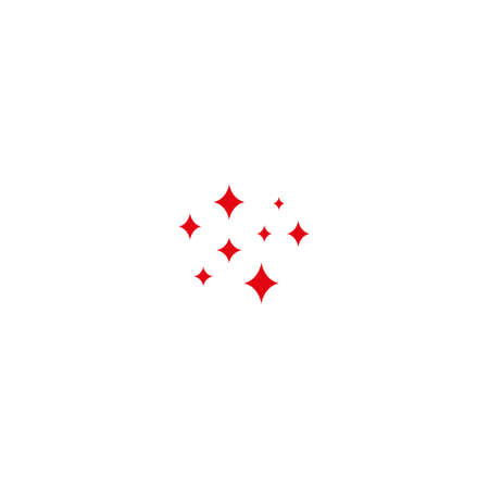 Shine icon, Clean star icon sparkling twinkling sparkles symbol Sparkle simple design Stars sign isolated on white background
