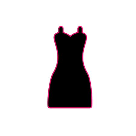 dress. Illustration