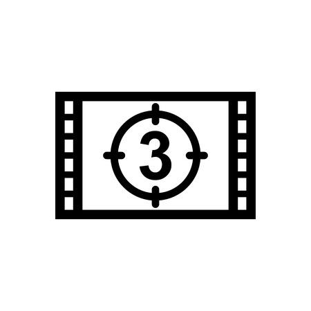 Countdown vector icon