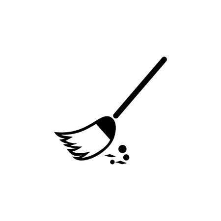 Broom �lear vector icon