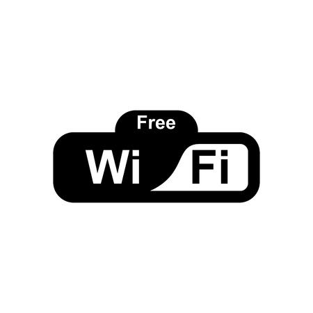 Free wifi signal vector icon