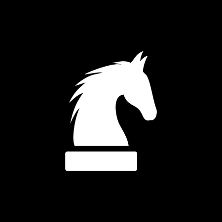Horse  head vector icon