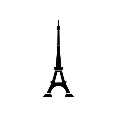 Eiffel tower vector icon