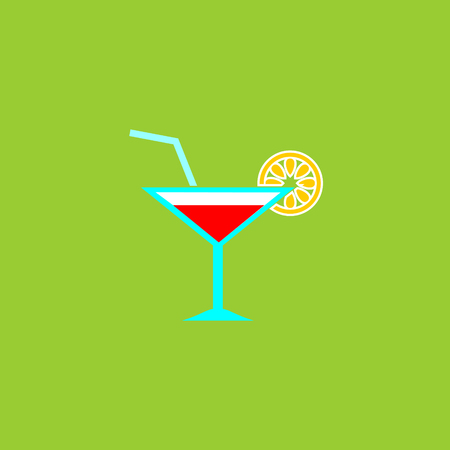 Cocktail-drink vector icon