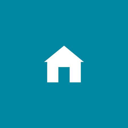 Home mobile vector icon