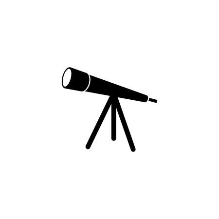 Telescope optical telescope vector icon