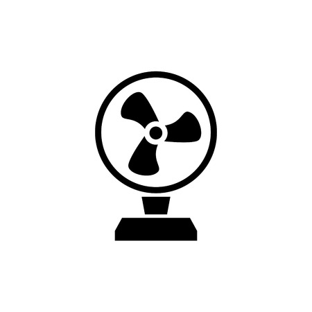 Fan vector icon Illustration