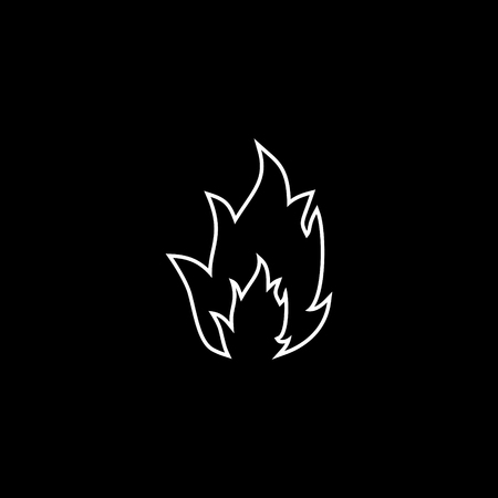 Flames vector icon