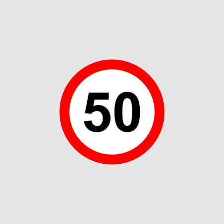 Maximum speed limit vector