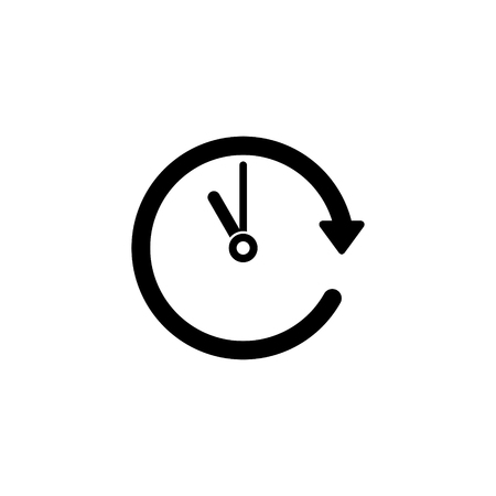 Passage of time vector icon