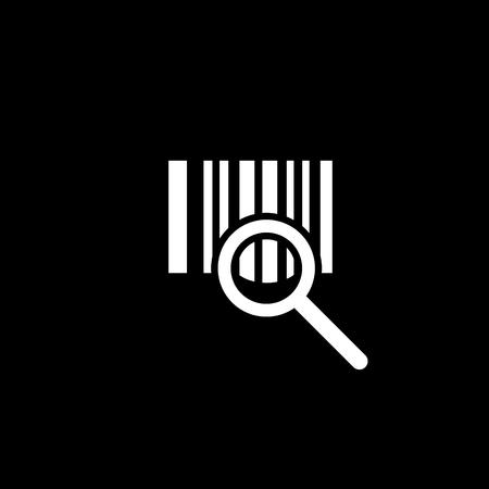Barcode verifying vector icon