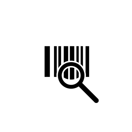 Barcode verifying vector icon