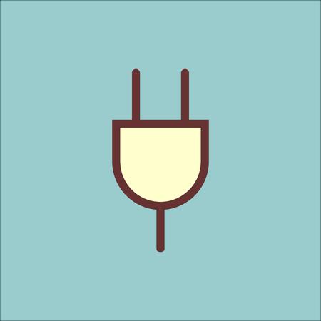 Icono de vector actual de horquilla