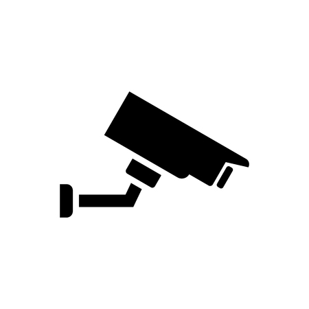 Security camera vector icon