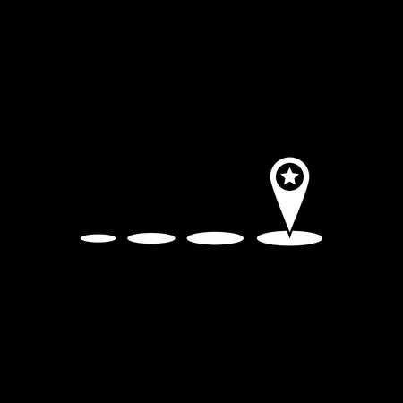 Moving vector icon