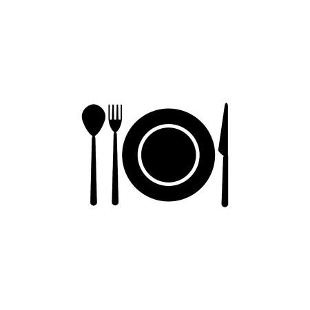 cutlery vektor icon  イラスト・ベクター素材