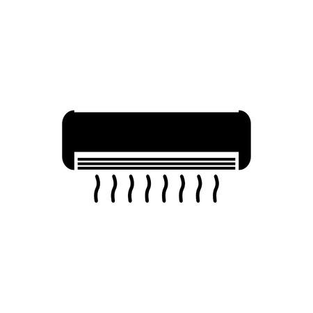 Air conditioning system vector icon Vektorgrafik