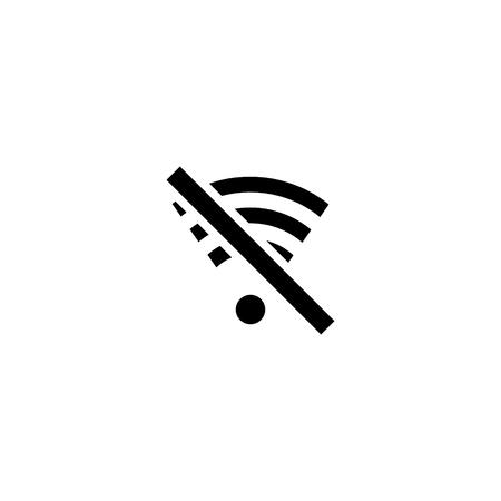 Off Wi-fi mobile vector icon