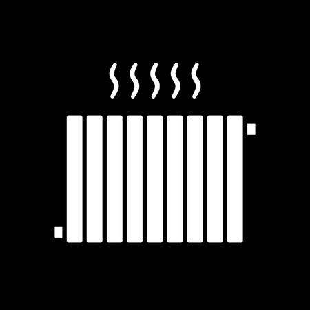 Verwarmingssystemen vector pictogram