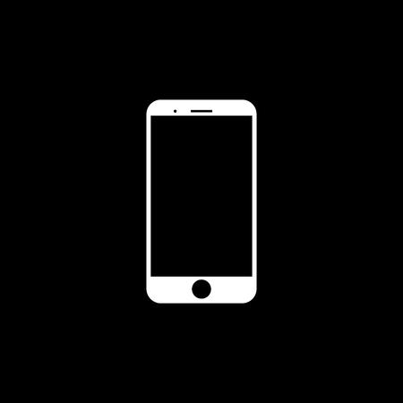 Mobile phone vector icon Ilustração