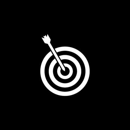 Icono de vector de destino