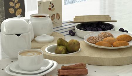 Breakfast scenes