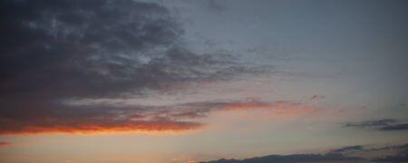 부드러운 구름과 하늘 배경 일몰 일출 스톡 콘텐츠 - 68968219