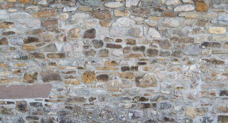 빈티지 벽돌 벽, 건축 배경 텍스처 스톡 콘텐츠