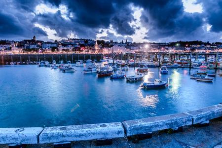 Notte di Guernsey Archivio Fotografico - 96516268