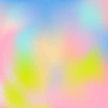 Vector illustration of abstract spring pastel colored background