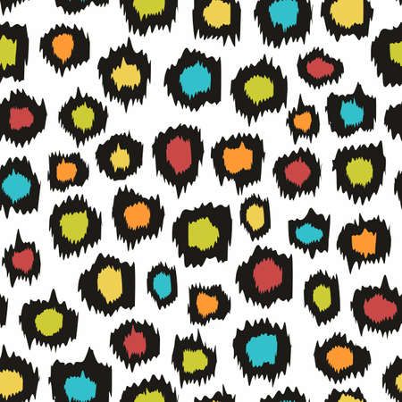 imitation: Decorative seamless background for design. Imitation leopard skins