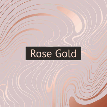 Rose gold. Abstract decorative background. Rose marble for the design of invitations and postcards