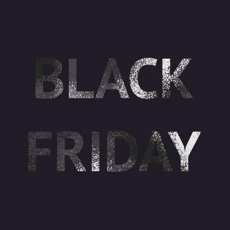Black Friday. Black glitter. Elegant background for sales