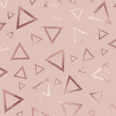 Oro rosa. Sfondo vettoriale astratto per copertine di design, inviti, biglietti