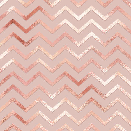 Rose gold. Elegant vector pattern for design of invitations, covers and surfaces