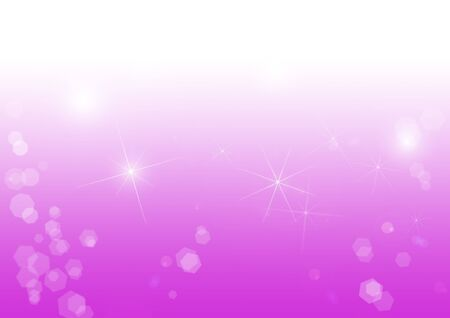 pink white christmas or winter background with light relfexes and stars Stock Photo - 16134305