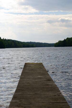 パス、湖に led を私自然環境