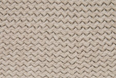 a beige light cotton structure or background Stock Photo - 17368900
