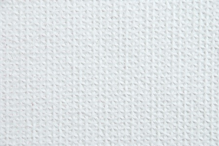 synthetic fiber: a white structure as texture, soft foam rubber