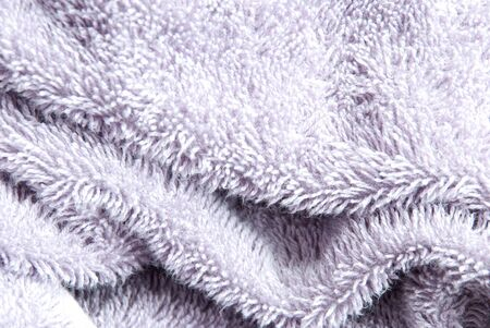 synthetic fiber: a soft and gentle light purple background or texture Stock Photo