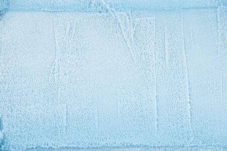 wintriness: a cube of ice as texture or background
