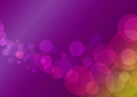 a colorful purple yellow background with many circles photo