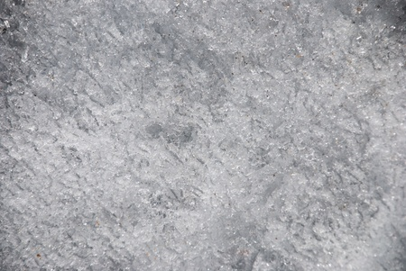 northpole: ice from a frozen lake, white texture Stock Photo