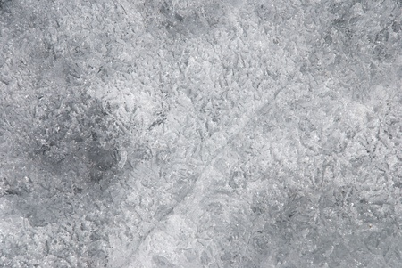 wintriness: a texture of frozen ice, white